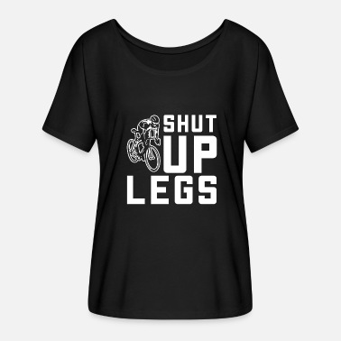 Bicyclette Cool Shut Up Legs Bicyclette - Women's Batwing T-Shirt