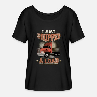 Funny Sayings Trucker Funny truck driver trucker profession saying gift - Women's Batwing-Sleeve T-Shirt by Bella + Canvas
