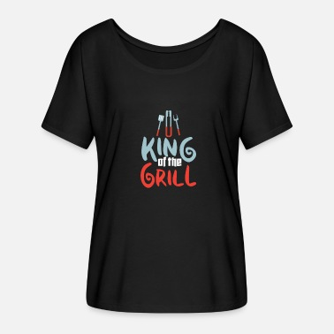 Grillking Grill the grillmaster grillmeister - Women's Batwing-Sleeve T-Shirt by Bella + Canvas