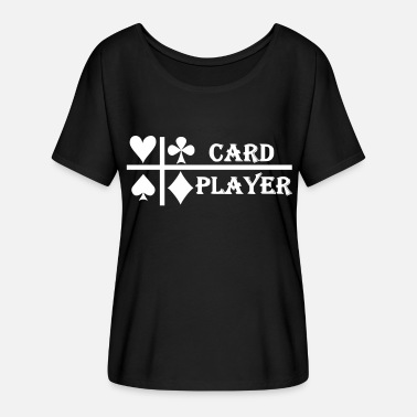 Gift Card card-player-gift cards - Women's Batwing-Sleeve T-Shirt by Bella + Canvas
