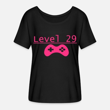 29 Birthday Level 29 - Women's Batwing-Sleeve T-Shirt by Bella + Canvas