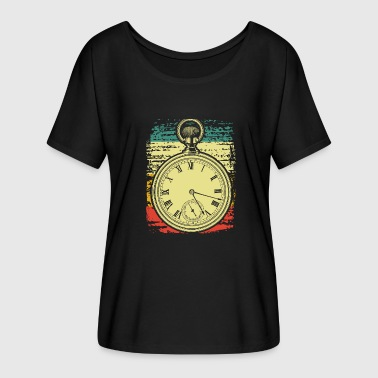 Pocket Watch pocket watch - Women's Batwing-Sleeve T-Shirt by Bella + Canvas