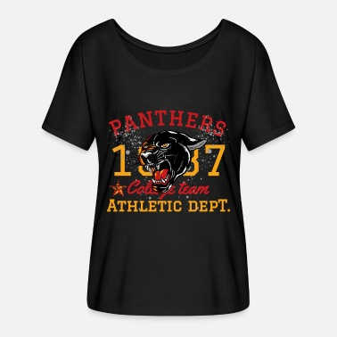 Panther Panther - Frauen Fledermaus T-Shirt