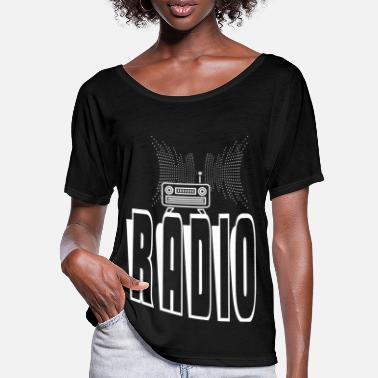 Radio RADIO - Frauen Fledermaus T-Shirt