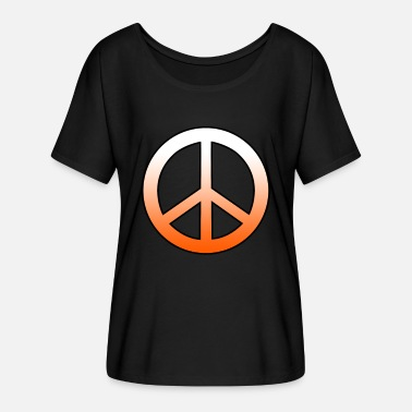 Peace sign peace sign - Women's Batwing T-Shirt