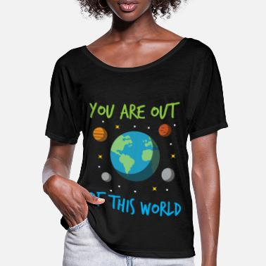 Planet Planet Earth Space All Stars Space Mars - Women's Batwing T-Shirt