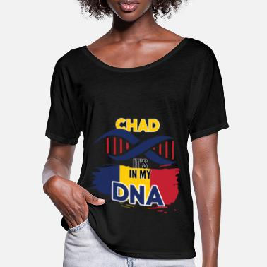 Region Chad is in my DNA - Women's Batwing T-Shirt