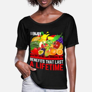 Healthy Eating HEALTHY EATING - Women's Batwing T-Shirt