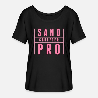 Sand Sand castle sand sand mountain sand castles sand mold - Women's Batwing T-Shirt