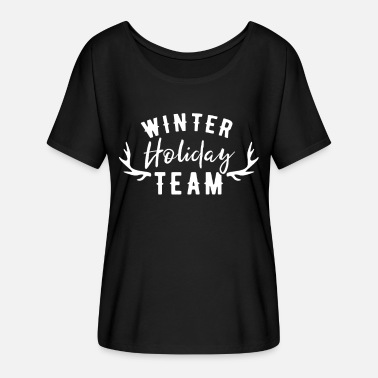 Winter Vacation Winter vacation team - Women's Batwing T-Shirt