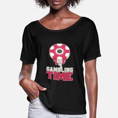 Casino Casino - Frauen Fledermaus T-Shirt