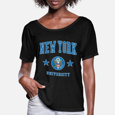 Highschool New York University - Frauen Fledermaus T-Shirt