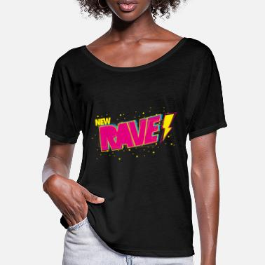 New Rave New Rave - Frauen Fledermaus T-Shirt