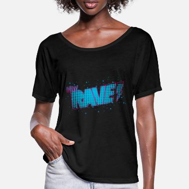 New Rave New Rave - Women's Batwing T-Shirt