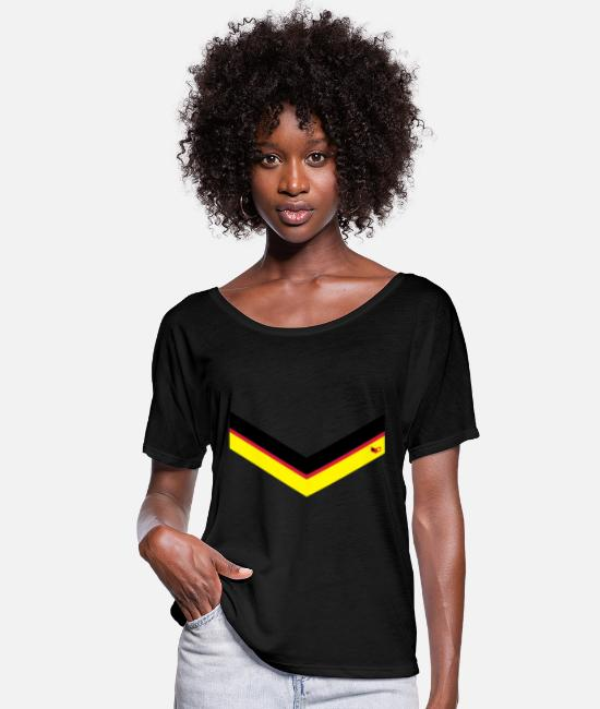 Germania T-Shirts - Germany Style - Women's Batwing T-Shirt black
