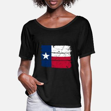 Lone Star Lone Star flag of Texas - Women's Batwing T-Shirt
