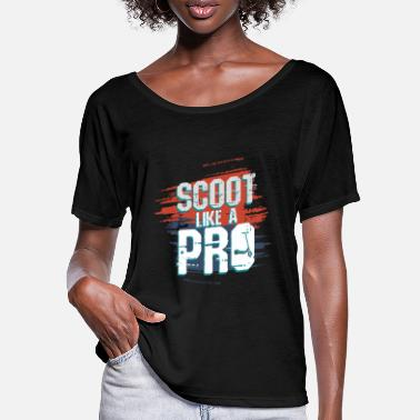 Stunt Scoot Like A Pro Roller EScooter - Women's Batwing T-Shirt