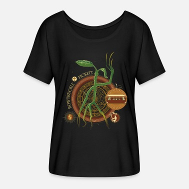 Harry Phantastische Tierwesen Bowtruckle Pickett - Frauen Fledermaus T-Shirt