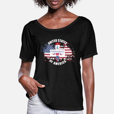 Independence Day Independence Day - Frauen Fledermaus T-Shirt