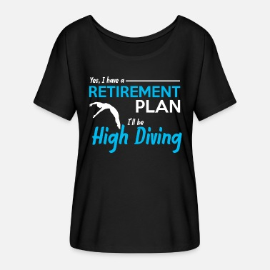 Diving Board Diving Diving - Women's Batwing T-Shirt