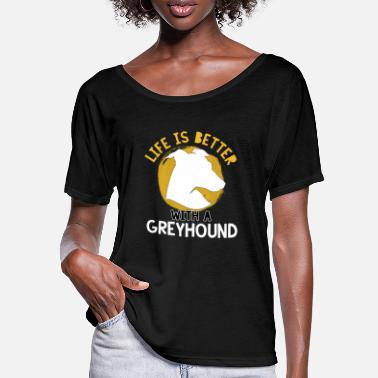 Hunting Dog Dog greyhound hunting dog hunting hunting - Women's Batwing T-Shirt