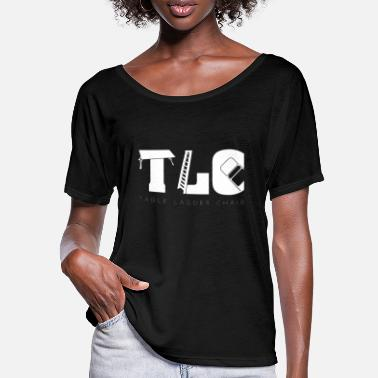 Tlc TLC Wrestling Match Gift Tables Ladders Chairs - Women's Batwing T-Shirt