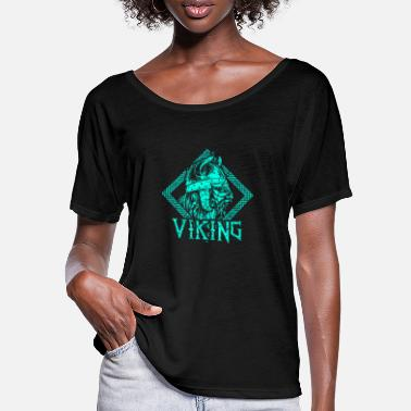 Warrior Viking warrior middle ages - Women's Batwing T-Shirt