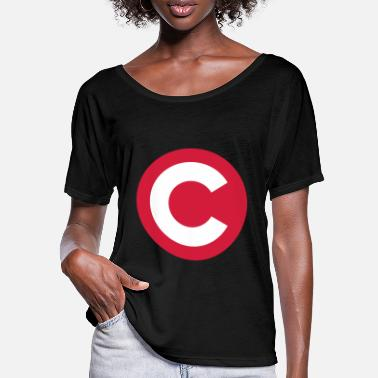 Copyright Copyright | Camera observed - T-shirt manches chauve-souris Femme