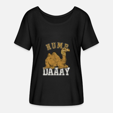 Humping Hump Day Camels Humps Wildlife Desert Animals - Women's Batwing T-Shirt