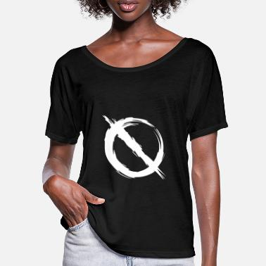 Prohibited Prohibition prohibited - Women's Batwing T-Shirt