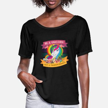 Magical Creatures Be A Unicorn Magical Creatures Magic Fantasy - Women's Batwing T-Shirt