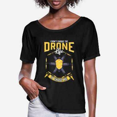 Hexacopter Hexacopter Dohne Drones Pilot Funny Gift - Women's Batwing T-Shirt