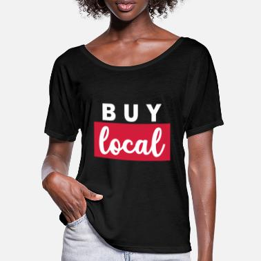 Region Buy local regional region Farmer Hospitality - Women's Batwing T-Shirt