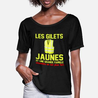 Yellow Vests Yellow vests - Women's Batwing T-Shirt