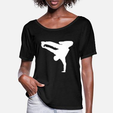 Breakdance Breakdance Breakdancer Style - T-shirt med flagermusærmer dame