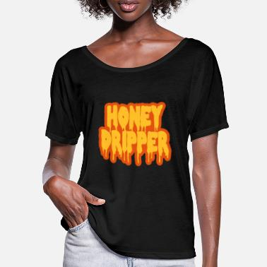 Blaxploitation Honey Dripper - Women's Batwing T-Shirt