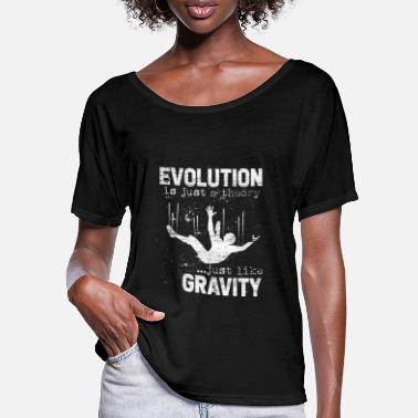 Darwin Evolution Darwin research science theory - Women's Batwing T-Shirt