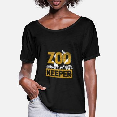 Zoo Animal Zoo animal Zoo Zoo animal keeper - Women's Batwing T-Shirt