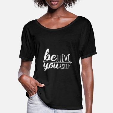 Self-confidence self-confidence - Women's Batwing T-Shirt