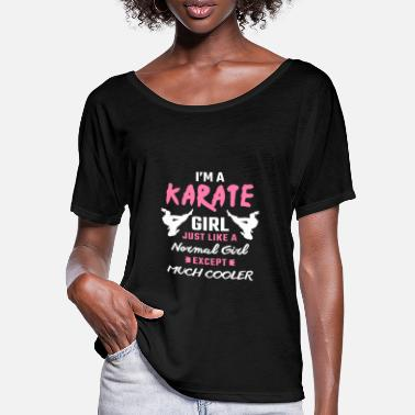 Karate Karate Karate Karate Gaver For Karate Lovers Karate - T-skjorte med flaggermusermer for kvinner