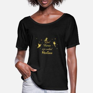 Adriana fairy fairies fairy first name name Adriana - Women's Batwing T-Shirt