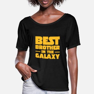 The Best Brothers Best Brother In The Galaxy - T-shirt med flagermusærmer dame
