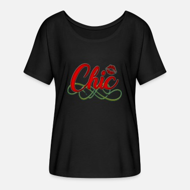 Chic Chic - Frauen Fledermaus T-Shirt