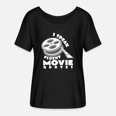 Movie Quotes movie quote - Women's Batwing T-Shirt