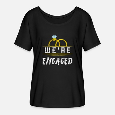 Engagement engagement - Women's Batwing T-Shirt