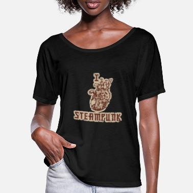 Michaus I love steampunk - Women's Batwing T-Shirt
