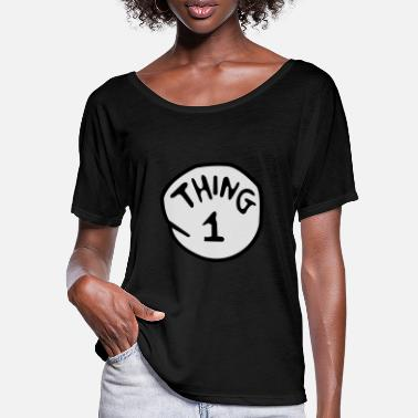 Thing thing 1 - Women's Batwing T-Shirt