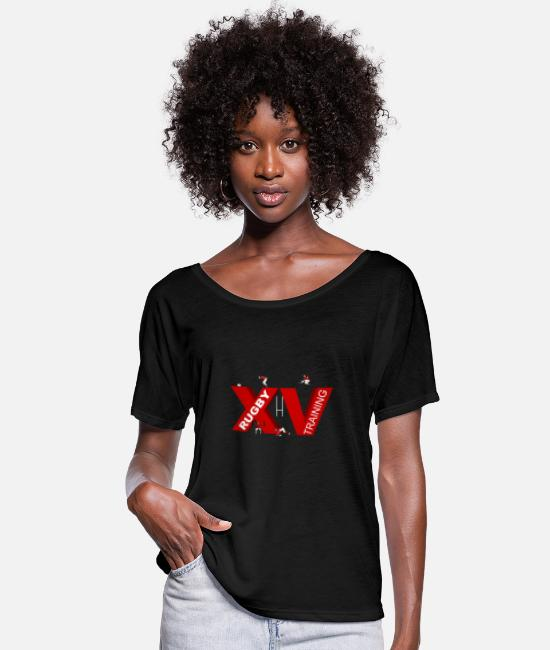 Training T-Shirts - XV TRAINING - Women's Batwing T-Shirt black