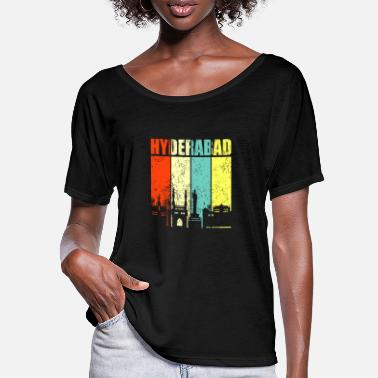 Hyderabad Hyderabad India - Women's Batwing T-Shirt