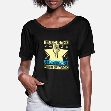 Concert Music is the strongest form of magic - Women's Batwing T-Shirt